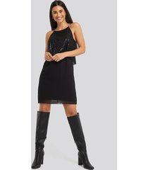 mango onyx dress - black