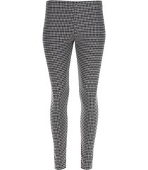 leggings estampado color gris, talla m