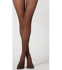 calzedonia 20 denier action tights medium woman brown size 5
