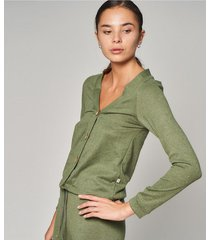 saco verde prussia relaxed