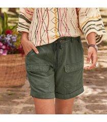 desert utility shorts - petites