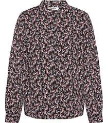 karola raye shirt aop långärmad skjorta lila moss copenhagen
