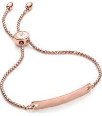 rose gold havana mini friendship chain bracelet