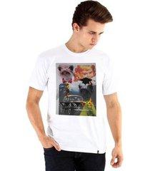 camiseta ouroboros agonia masculina - masculino
