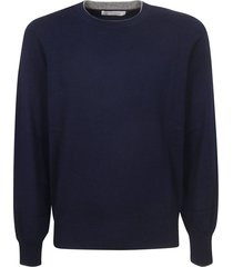 brunello cucinelli round neck sweater