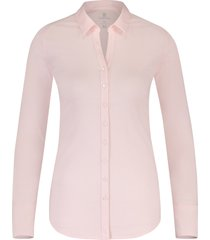 desoto eve dames overhemd licht v-hals plain stretch