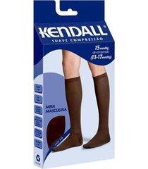 meia 3/4 kendall suave compressão masculino