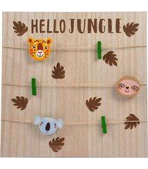 organizer dla dzieci tablica na zdjęcia jungle