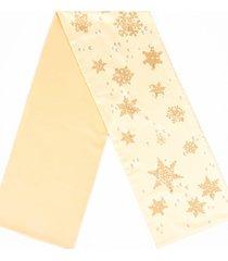 hermes snowflake silk angora scarf brown sz: