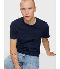 lacoste tee-shirt t-shirts & linnen navy