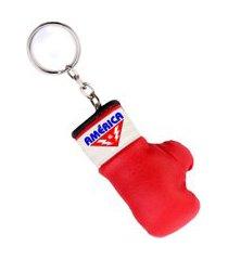 chaveiro luva de boxe américa vermelho