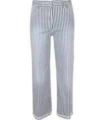 true royal washed riviera stripe pants
