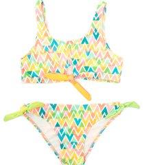 bikini multicolor mapamondo