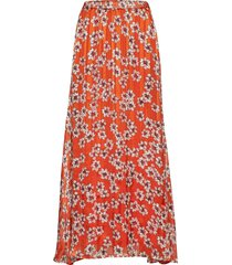 zilmaiw hilma skirt knälång kjol orange inwear