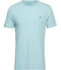 i logo softwash tee ii t-shirts short-sleeved blå banana republic