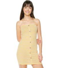 vestido amarillo-blanco ambiance