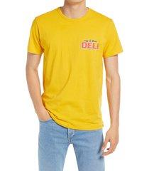 men's rag & bone bodega graphic tee, size xx-large - yellow (nordstrom exclusive)