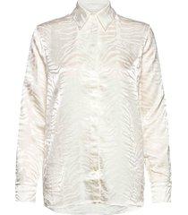 narkisa overhemd met lange mouwen crème tiger of sweden