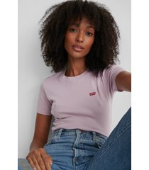 levi's t-shirt med logga - purple
