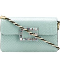 gucci square g shoulder bag - green