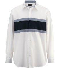 overhemd men plus wit::marine