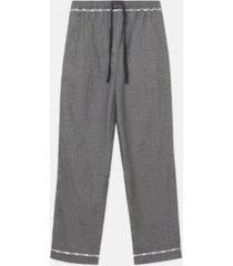 wesc addison solid woven pajama pants