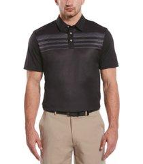 pga tour men's space-dyed polo shirt