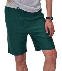 bermuda hombre verde oscuro santana