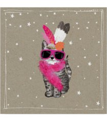 "hammond gower fancy pants cats viii canvas art - 20"" x 25"""