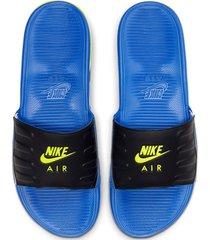 9-sandalias de hombre nike nike air max camden slide-azul