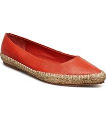 zola espa l shoes ballerinas espadrilles flat orange shoe the bear