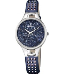 reloj mademoiselle azul oscuro festina