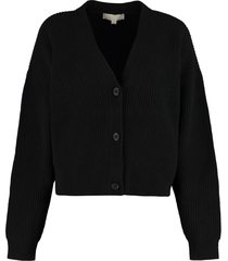 michael kors wool and cashmere cardigan