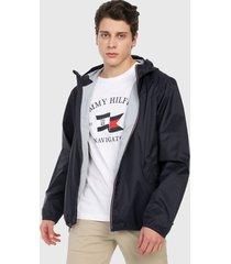 chaqueta azul oscuro-blanco-rojo tommy hilfiger