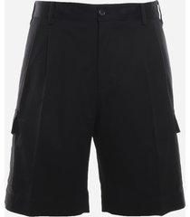 dolce & gabbana five-pocket stretch cotton bermuda shorts