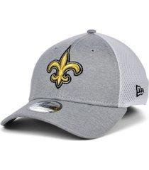 new era new orleans saints shadow tech gray neo 39thirty cap