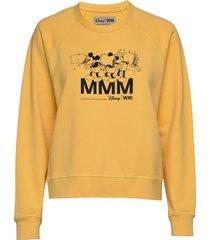 jerri sweatshirt sweat-shirt tröja gul wood wood