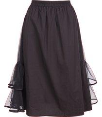 jovonna london luden cotton skirt