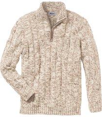 maglione con cerniera (beige) - john baner jeanswear