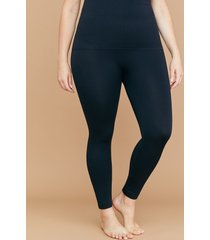 lane bryant women's ultra high-waist shaping leggings - seamless g-h black