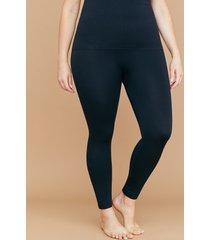 lane bryant women's ultra high-waist shaping leggings - seamless g-h black