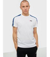 fila men thanos tee t-shirts & linnen bright white