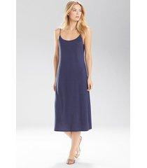 natori shangri-la nightgown, women's, blue, size xl natori