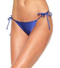 calcinha salinas string lisa azul