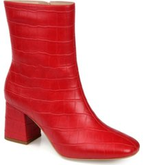 journee collection women's trevi bootie women's shoes