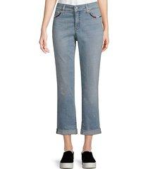 boyfriend crop jeans