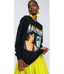 akira aaliyah long sleeve t-shirt