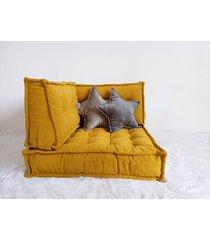 sofa modułowa futon materac francuski puf