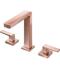 misturador para banheiro mesa stillo cobre escovado - docol - docol