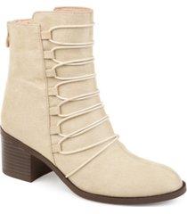 journee collection women's comfort cyan bootie women's shoes